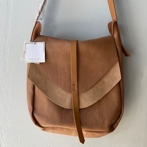 SHIRALEAH Tan Arden Messenger Bag